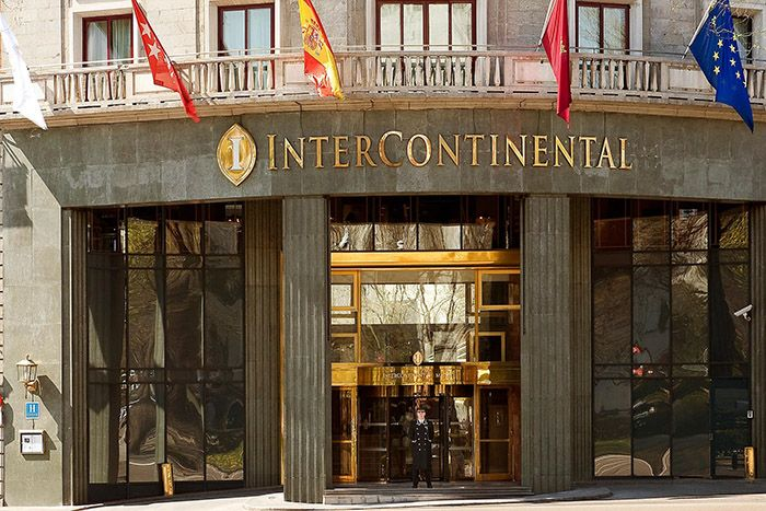 InterContinental Madrid Main Exterior